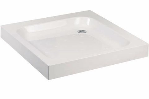 Lakes Traditional Stone Resin Deep Shower Tray 1000mm x 1000mm